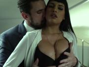 Mercedes Carrera and her dominant boss