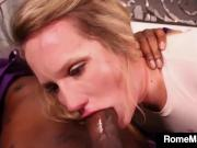Hot White Cracker Lena Starr Gets Rome Major Big Black Cock!