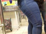 Big ass in tight jeans want something sweet