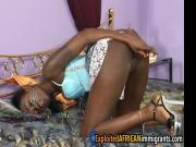 Exploited black girl honeymoon fucking