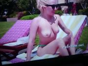 Lady Gaga - Boobs in Documentary.