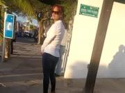 Mexicana Madura en jeans 2
