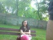 Lawka w parku