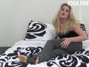 Rub your cock on my ass in yoga pants JOI