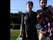 Public hunt p8girls flash panties 2013-nv