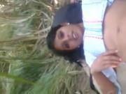 Desi Classmate ko Ganne ke Khet meh Nanga Chodh dala Farm
