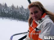Mofos - Public Pick Ups - Flashing Double-Ds While She Skis