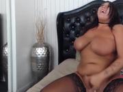 Curvaceous Taylor with huge boobs fucks phat pussy
