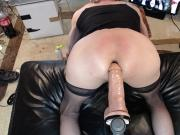 big dildo in my ass doggystyle