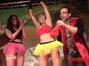 Magia al desnudo featuring conrad girls en el FEDA 2015