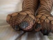 I have the feet of a goddess and I need you to pamper them