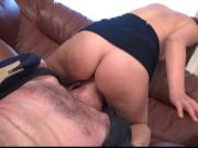 Russian Mistress Punishes Her Slave For Bad Report