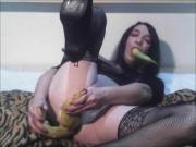 Webcam Only Banana Anal Ass Hole