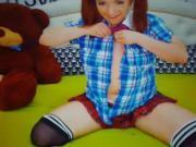 Schoolgirl on cam pt1