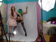 feminized sissy gets spanked by Mistress