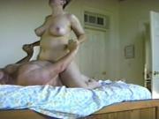 Bear fucks his girlfriend