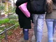 Streetgirls in Deutschland - Echte Schlampen!