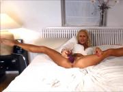 MFC BlondeFreya Big Orgasm In My Bed HD PREMIUM