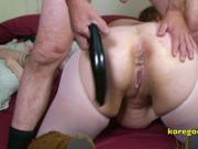 Anal Queen has her ass busted and cummed on