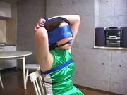 Japan girl tied