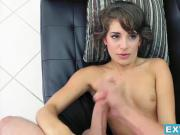 Tiny brunette Kimmy Granger gets her teen pussy destroyed