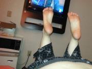Wrinkled bbw soles
