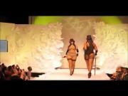 BBW sexy fashion show no nude