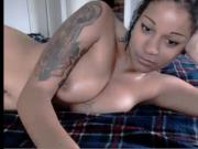 hot mixed girl cums on cam pt.2