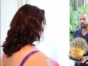 Sexy Busty BBW MILF Lady Lynn Fucks Latino Delviery Stud