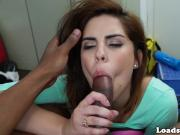 BBC loving casting slut cumsprayed on face