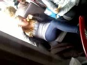 German minitits jeans leggins different. Bus stop girls 7