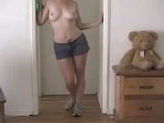 sexyest webcam strip n play teen ever