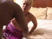 Swinger wife slut creampied by black man in hotel - snake
