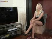 Pantyhose damsel from Sliding Albion