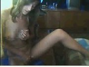 Romanian Mirela from Cluj,masturbing in webcam