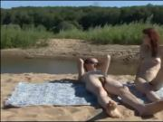 Nude Beach showoff