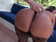 Huge Latina ass Sandra gets banged