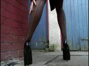 Seamed nylons and Heels