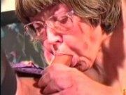 Ugly Granny Fucks a Tranny