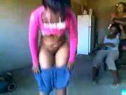 South African Stripper with big booty showing talent