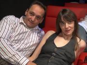 Reife Frauem im Pornokino