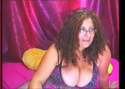 Milf with huge tits is a sexteacher on cam