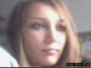 Teeny girl masturbating on webcam