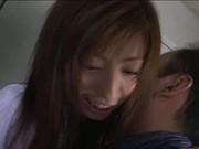 Slender and beautiful Japanese girl censored +