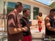 Brazzers - Teens Like It Big - Casey Cumz Jordan Ash and Ram