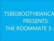 SHEMALE PORNSTAR TS BIG BOOTY BIANCA FUCKS 2 ROOMMATES !