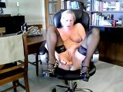 52 Yr. Old Roxy Squirts When She Cums