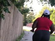 Phat ass booty jiggly bbw was so thick part 1