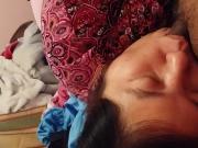 My hmong girl giving me head