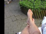 Samira's beautiful feet